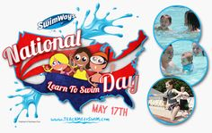 National Learn to Swim Day falls on May 17th this year! Find out more at http://teachmetoswim.com/national-learn-to-swim-day.aspx