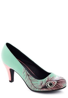Proudly Posh Pump in Mint, #ModCloth