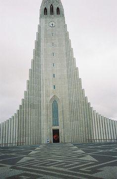 church in Reykjavik, Iceland