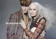 82-year-old Daphne Selfe - Fashion Model for 60 years. /;)