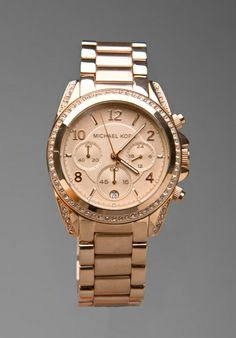 MICHAEL KORS Blair Watch in Rosegold at Revolve Clothing