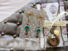 The Bumbling Bee: D.I.Y. jewellery travel storage...