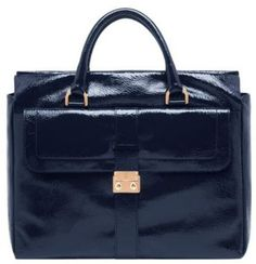 great for gadgets ...Mulberry Harriet patent tote