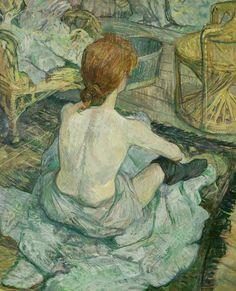Henri Toulousse-Lautrec  Rousse (la toilette)  1896