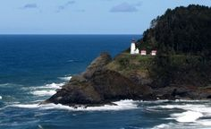 Heceta Head Lighthouse, Oregon, was named one of Budget Travel's Most Beautiful Lighthouses in America.