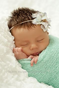 Knit Stretch Wrap Newborn Photography Prop Mint by BabyBlissProps, $20.00