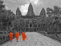 Visit Angkor Wat, Cambodia
