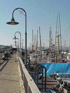 San Francisco - Fisherman's Wharf by myoldpostcards,