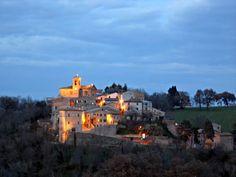 march mon, castles, arcevia, italy, itali