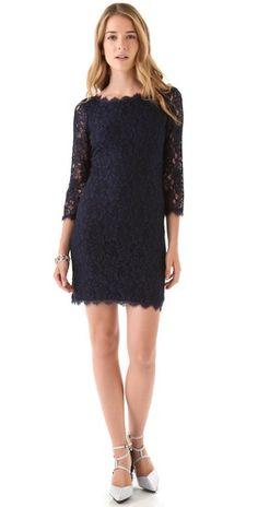 zarita lace dress / dvf