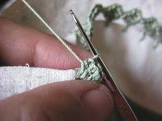 Tutorial - Easy Zig-Zag Crocheted Edging