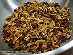 Low carb gluten free granola