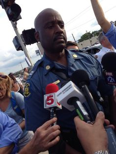 "Capt Ron Johnson: ""I told the guys to take their gas masks off."" @erindelmore reporting."