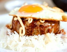 Rokomoko (Loco Moco) Rokomoko is more widely written as loco moco, which consists of white rice topped with a hamburger patty, a fried egg, ...