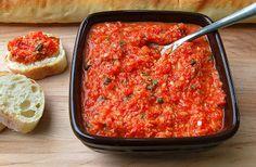 Souffle Bombay: Roasted Red Pepper & Artichoke Spread