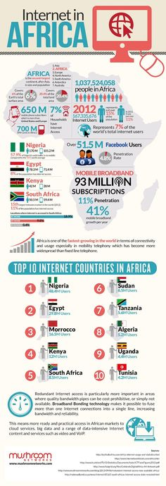 Infographic: A Snapshot of Internet Use in Africa