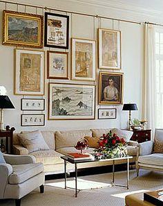 Elegant bedroom tv divide wall