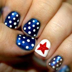nails designs 2014, nail 2014 heart design, rhinestone nails designs, red white blue, nail designs