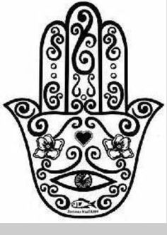 The Hamsa is a Jewish symbol that signifies protection.