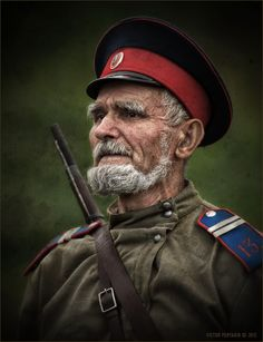 35PHOTO - Виктор Перякин - Портрет казака бывалого...