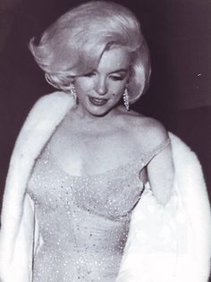 On the night Marilyn sang Happy Birthday, Mr. President at the White House.