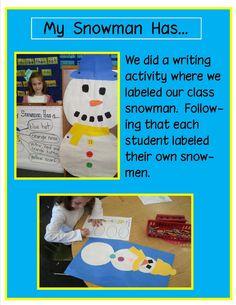 Golden Gang Kindergarten: My Snowman Has...