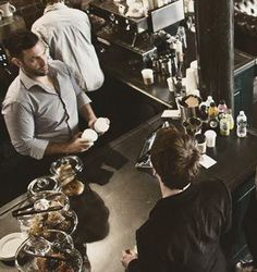 New York | Lenox Coffee • 260 West 129 Street coffe shop, lenox coffe