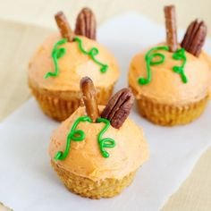 Maple Pumpkin Cupcakes « Go Bold with Butter