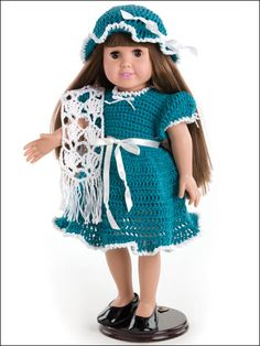 """free pattern for 18"""" doll"""