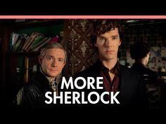 Cumberbatch and Freeman on 'Sherlock' 3 and bromance