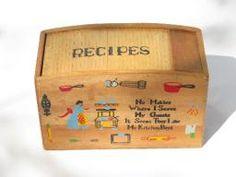 vintage cookbooks & recipes