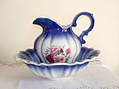 English Water pitcher, victorian style