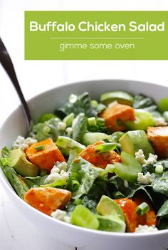 Buffalo Chicken Salad | Gimme Some Oven