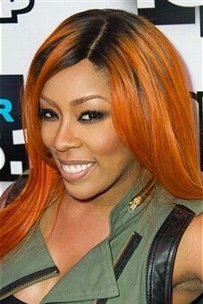 K Michelle Inspired Red Ombre Quickweave