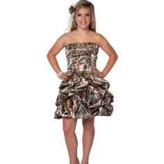 Realtree® Camo Wedding Dress | Camo Formal Wear | Brides maid dress!!!!!