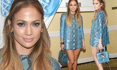 Jennifer Lopez wows in head-to-toe snake ensemble at American Idol