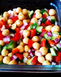 Recipes: Easy Garbanzo Bean Salad