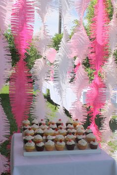 streamers- frilly crepe paper streamers for backdrop. Any COLOR!
