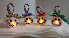 Battery Operated Snowman Tea Light Candle