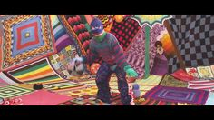 I really love the Sarah Applebaum #crochet in Seventeen Evergreen Polarity music video