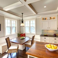 revere pewter on wall and cabinet colors are Ralph Lauren's Nantucket White. .....love the warmth of wood n wall color