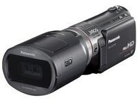 """PANASONIC AFFORDABLE 3D CAMCORDER UNVEILED  Panasonic is planning amore affordable stereoscopic 3D camcorderat amysterious July 28th Tokyo unveiling. It's called the HDC-SDT750, and is advertised as the """"World's first 3D Shooting Camcorder."""""""