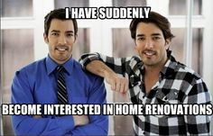 I made this today after watching Property Brothers for the first time <3