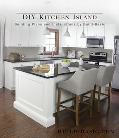 diy kitchen, kitchen islands