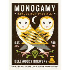 monogamy ale with barn owls