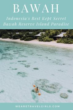 Bawah Reserve is a private island retreat that offers its guests a luxury escape in Indonesia's Anambas archipelago. Made up of 6 Islands, 3 Lagoons and 13 Beaches, Bawah is a lush tropical paradise that you will never want to leave! From the moment you start your journey to Bawah, to the second you step foot onto the jetty, you know you are in for a magical and unique stay. Just make sure to book your visit for more than a few days as you will never want to leave. Now let me tell you why Bawah