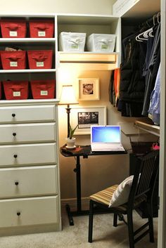 Our Joy...His Glory: makeshift office