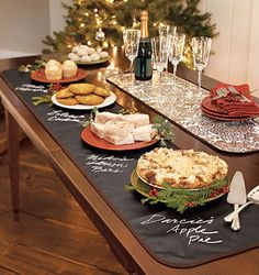 Cooking for guests with special diets this year? Love this idea to replace tent cards.