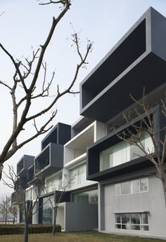 Pixel in Beijing Modelroom / SAKO Architects - very attractive modular style homes! #beijing #homes #house #design #architecture #modular #minimalist