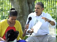 """President Obama reading """"Where The Wild Things Are"""""""